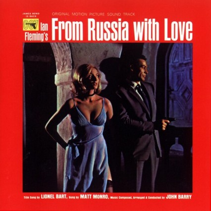 From Russia with Love James Bond John Barry