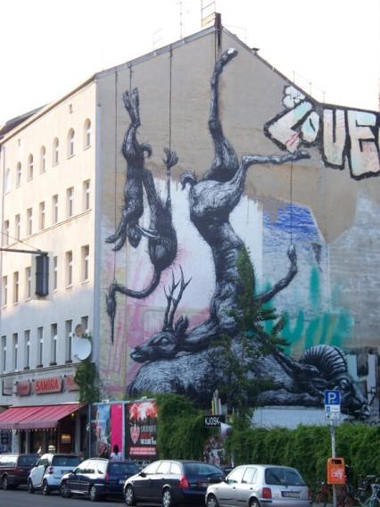 Street Art Berlin Roa