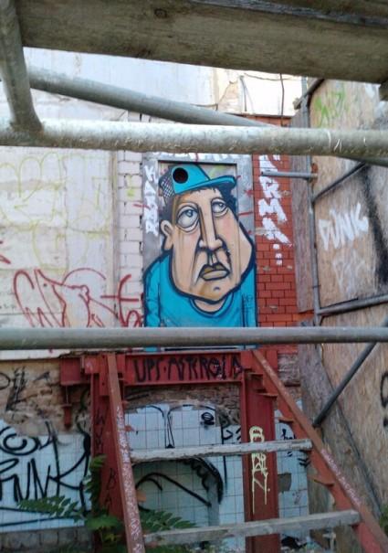 'Street Art Landsberger 54 Berlin