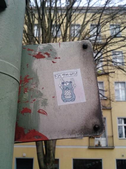 Sticker Street Art Berlin