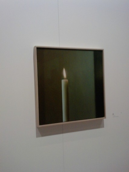 Gerhard Richter Panorama Berlin Kerze