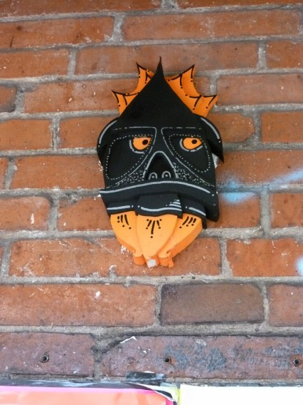 Zipper die Rakete Street Art Hamburg