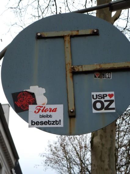 Hamburg Schanzenviertel Rote Flora