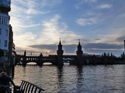Berlin Sonnenuntergang Oberbaumbrücke