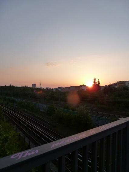 Sonnenaufgang Berlin
