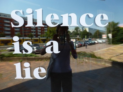 Silence Is A Lie Street Art Berlin