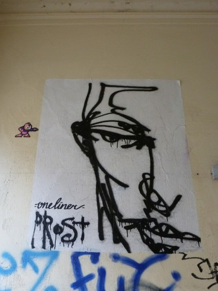 Street Art Prost Hamburg
