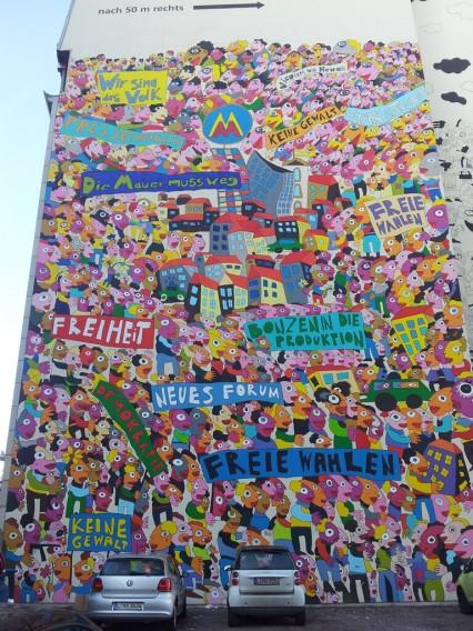 Street Art Fischer-Art Leipzig