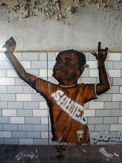 Street Art Backwarenkombinat Berlin