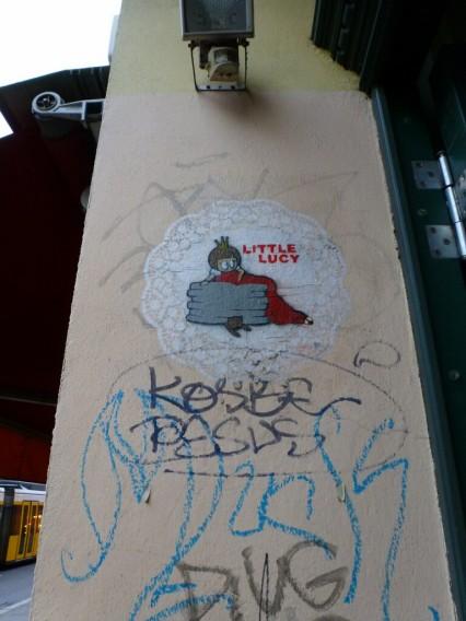 Street Art El Bocho Little Lucy
