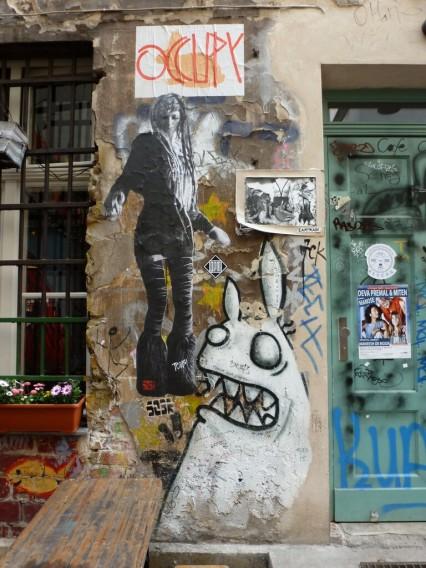 Haus Schwarzenberg Street Art Berlin Mitte